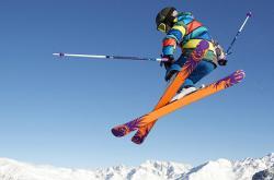narciarskie ewolucje w powietrzu